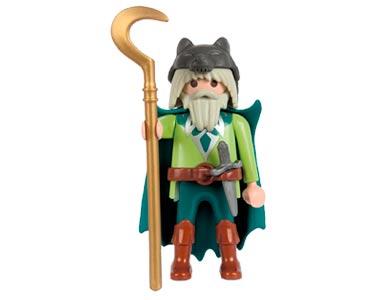 Le livret 16 : Les peuples celtes + 2 Fiches de jeu + Figurine