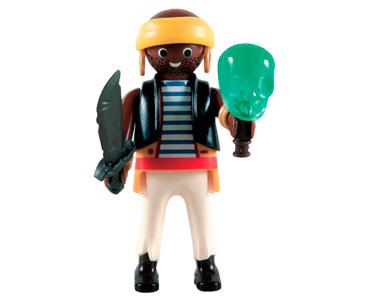 Le livret 45 : Les corsaires + 2 Fiches de jeu + Figurine