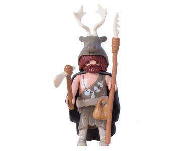 Le livret 6 : Les chasseurs de mammouths + 2 Fiches de jeu + Figurine