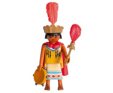 Le livret 8 : Les Incas + 2 Fiches de jeu + Figurine