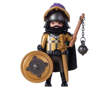 Le livret 35 : À l'assaut du château + 2 Fiches de jeu + Figurine