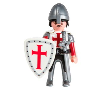 Le livret 31 : Les croisades + 2 Fiches de jeu + Figurine
