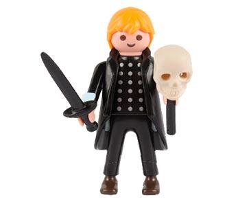 Le livret 21 : William Shakespeare + 2 Fiches de jeu + Figurine