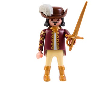 Le livret 27 : Molière, le père de la comédie française + 2 Fiches de jeu + Figurine