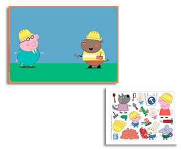 Les fiches nº14 + des stickers en silicone + un scénario