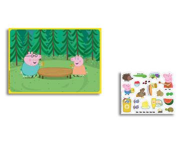 Les fiches nº2 + la mallette + des stickers en silicone + un scénario
