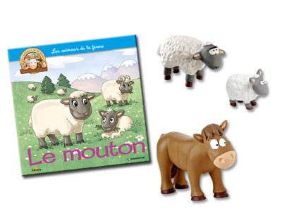 """Le livret """"Le mouton'' + miniatures"""