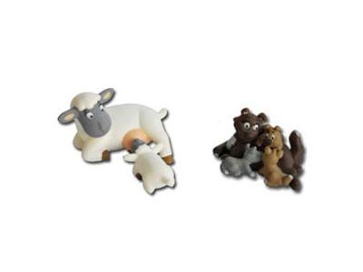"""Le livret 28: """"Les animaux et leurs bébés"""" + miniatures"""