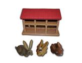 """Le livret 30 """"Le lapin"""" + miniatures"""