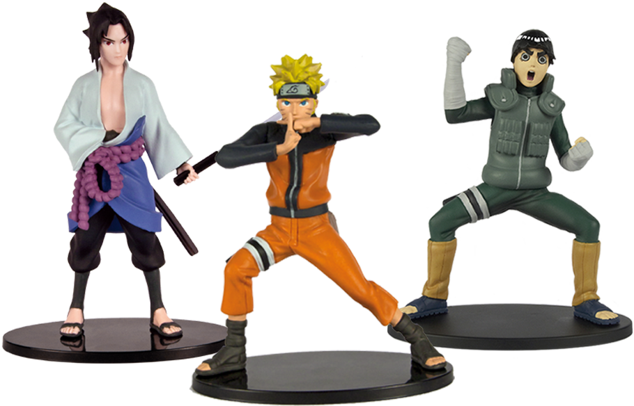 Collection de Figurines de Naruto Shippuden