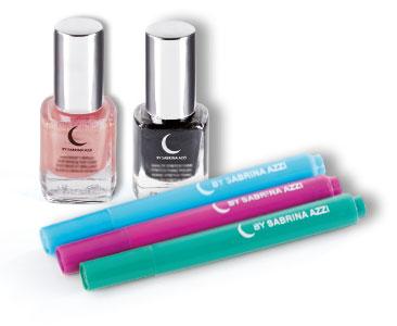 Fascicule 3 + Vernis effet ardoise satin Glam + Vernis effet ardoise Old pink matte + Set de 3 stylos feutres