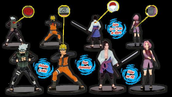 Colecione as figuras de Naruto Shippuden