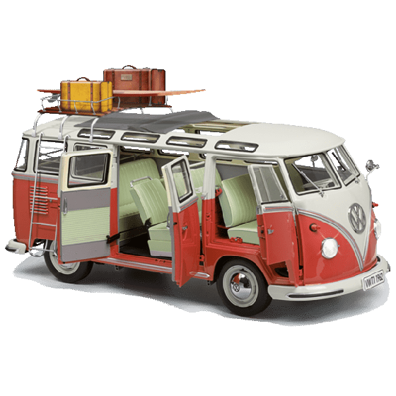 Construa, passo a passo, o seu VW Samba Bus
