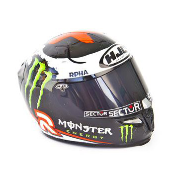 Fascículo + Capacete: JORGE LORENZO (2013)