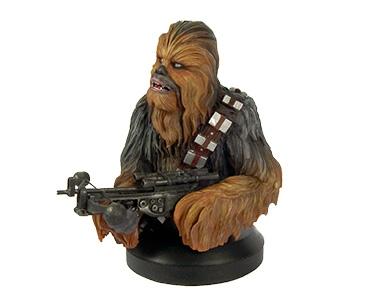 Fascículo + Busto Chewbacca