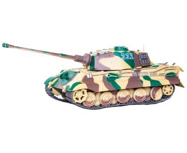 Fascículo + miniatura: Pz.Kpfw. VI TIGER II Ausf. B (Sd.Kfz. 182), sch. SS-Pz.Abt. 501