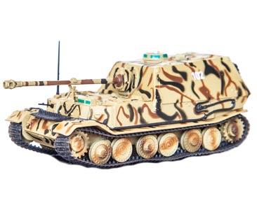 Fascículo + miniatura: Panzerjäger Tiger (P) Elefant (Sd.Kfz. 184), s. Pz.Jg.Abt. 653