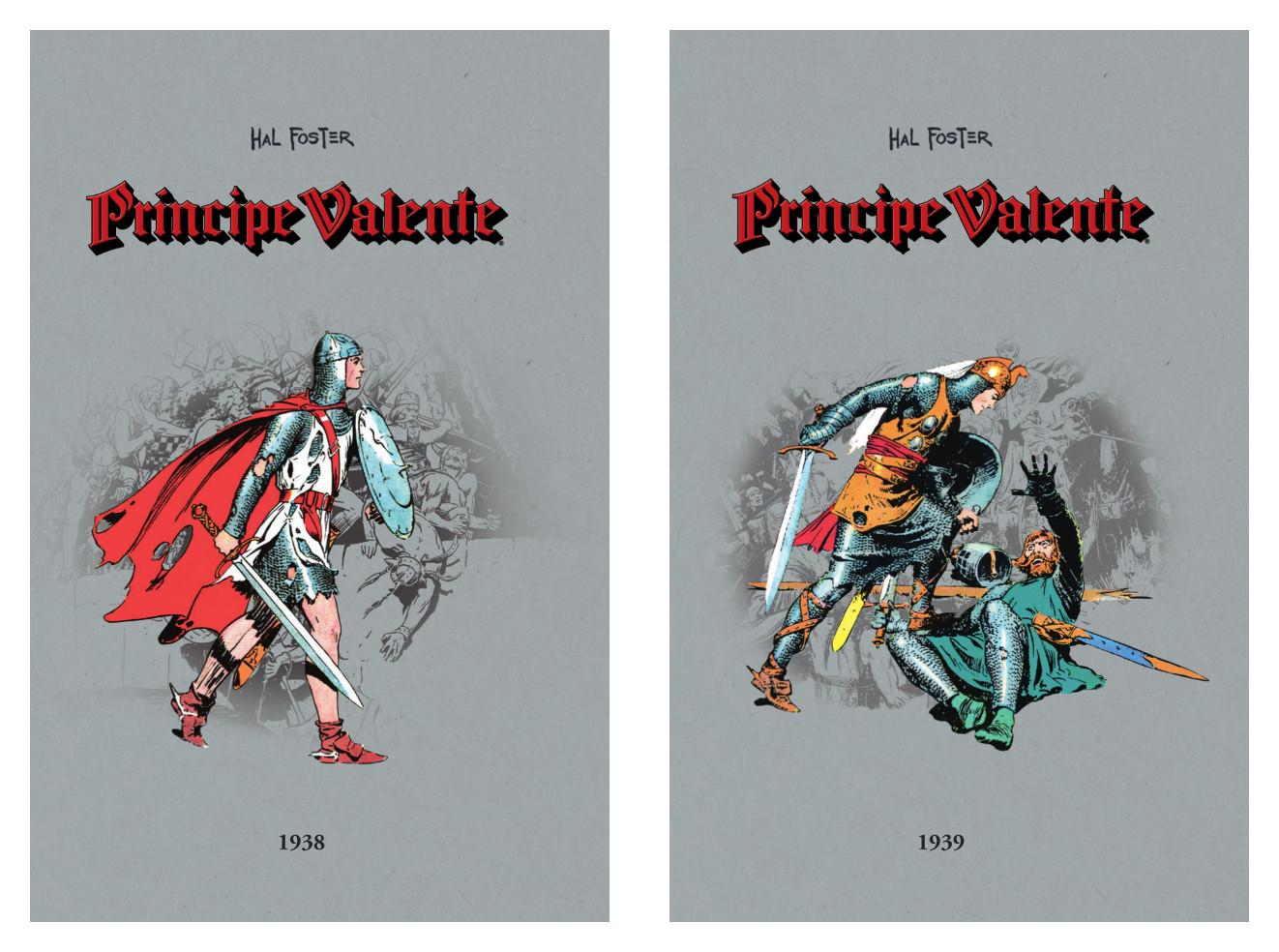 Livro 2 -  Príncipe Valente 1938 + Livro 3 -  Príncipe Valente 1939