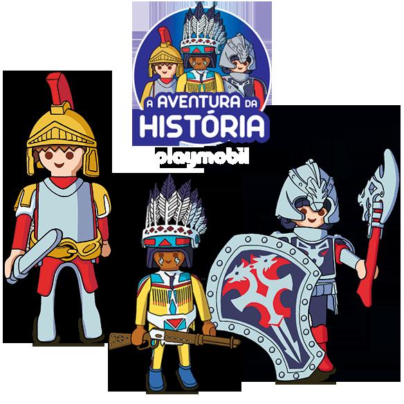 PLAYMOBIL - A AVENTURA DA HISTÓRIA