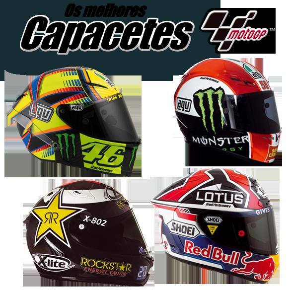 Capacetes MotoGP