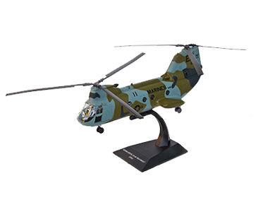 Fascículo + Miniatura: BOEING VERTOL CH-46E SEA KNIGHT - EUA