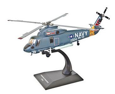 Fascículo + Miniatura: KAMAN SH-2F Seasprite - EUA