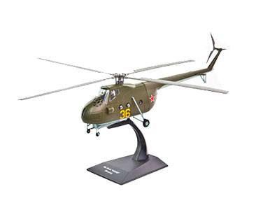 Fascículo + Miniatura: MIL MI-4A HOUND - RÚSSIA