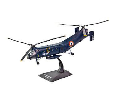 Fascículo + Miniatura: PIASECKI H-21 FLYING BANANA - EUA