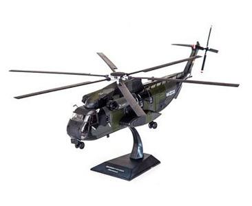 """Fascículo + Miniatura: SIKORSKY CH-53GA """"SEA STALLION"""" - ALEMANHA"""