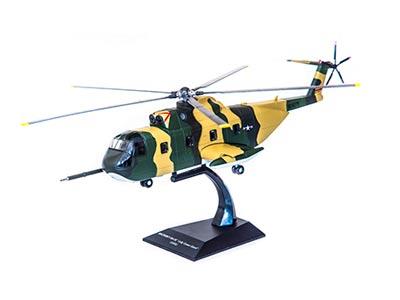 Fascículo + Miniatura: SIKORSKY HH-3E JOLLY GREEN GIANT - EUA