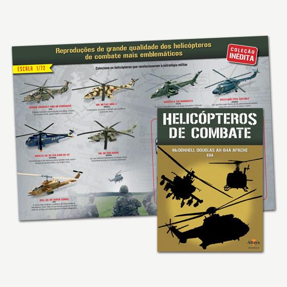 Colecione os helicópteros que revolucionaram a estratégia militar