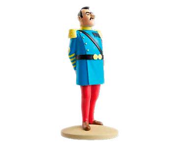 Livro + Figura + Passaporte: GENERAL ALCAZAR de uniforme