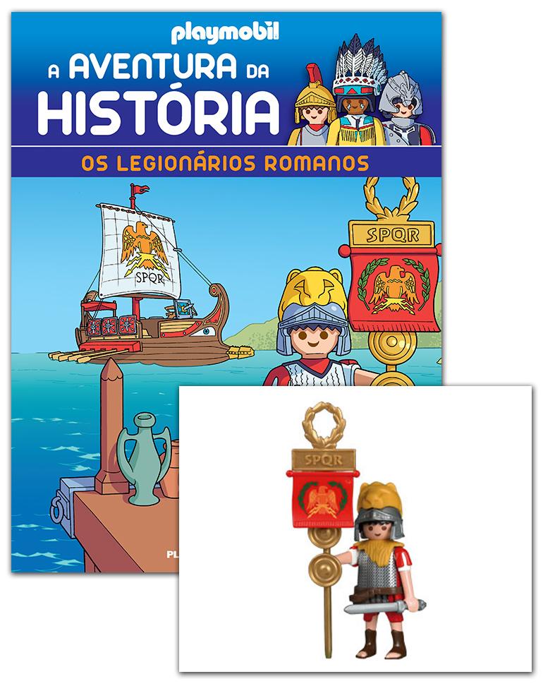 07/11/2018 (Os legionários romanos + 2 cartas + Figura)