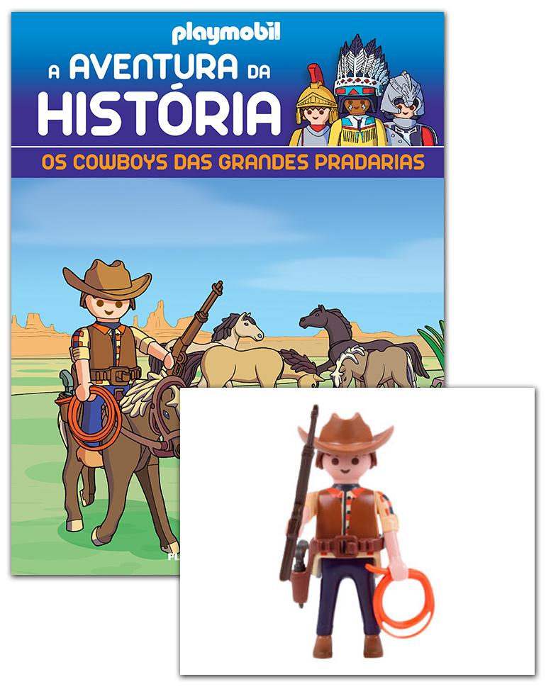 13/03/2019 (Os cowboys das grandes pradarias + 2 cartas + Figura)