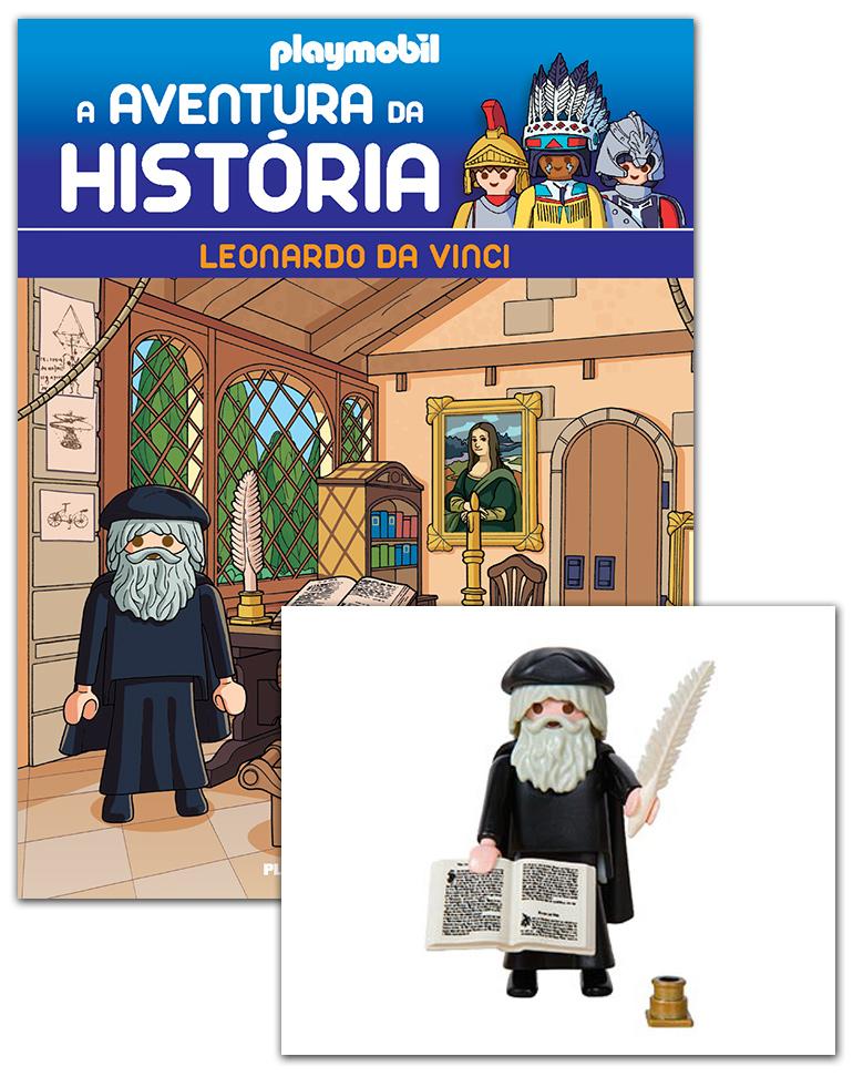 10/04/2019 (Leonardo, o mestre da arte + 2 cartas + Figura)