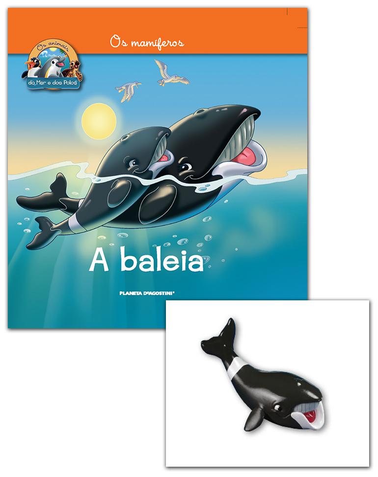 Livro + Conjunto de Figuras: Papá Baleia da Gronelândia