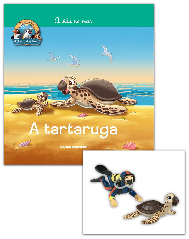 Livro + Conjunto de Figuras: Mamã Tartaruga + Papá Humano