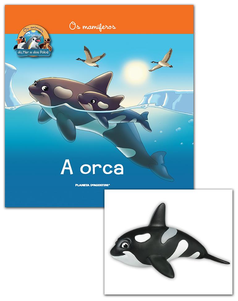Livro + Conjunto de Figuras: Mamã Orca