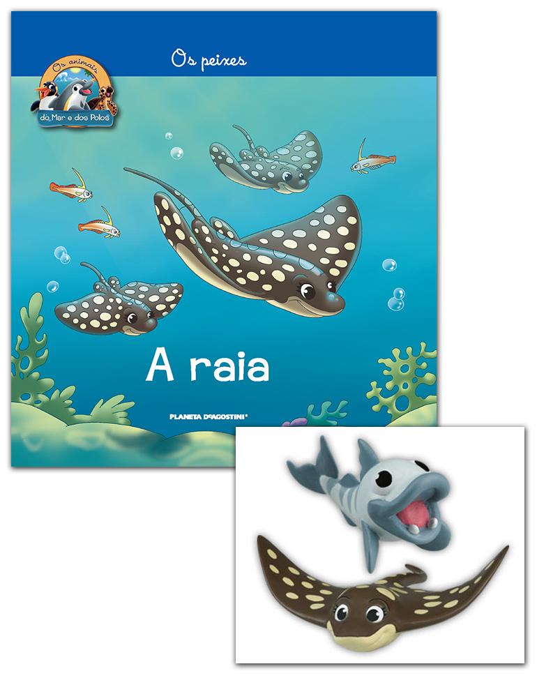 Livro + Conjunto de Figuras: Bebé Barracuda + Mamã Raia
