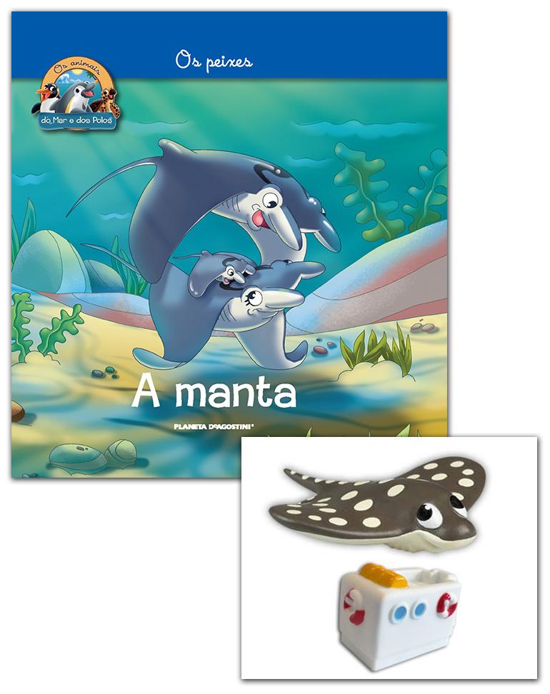 Livro + Conjunto de Figuras: bebé MANTA + Barco (Parte do meio)