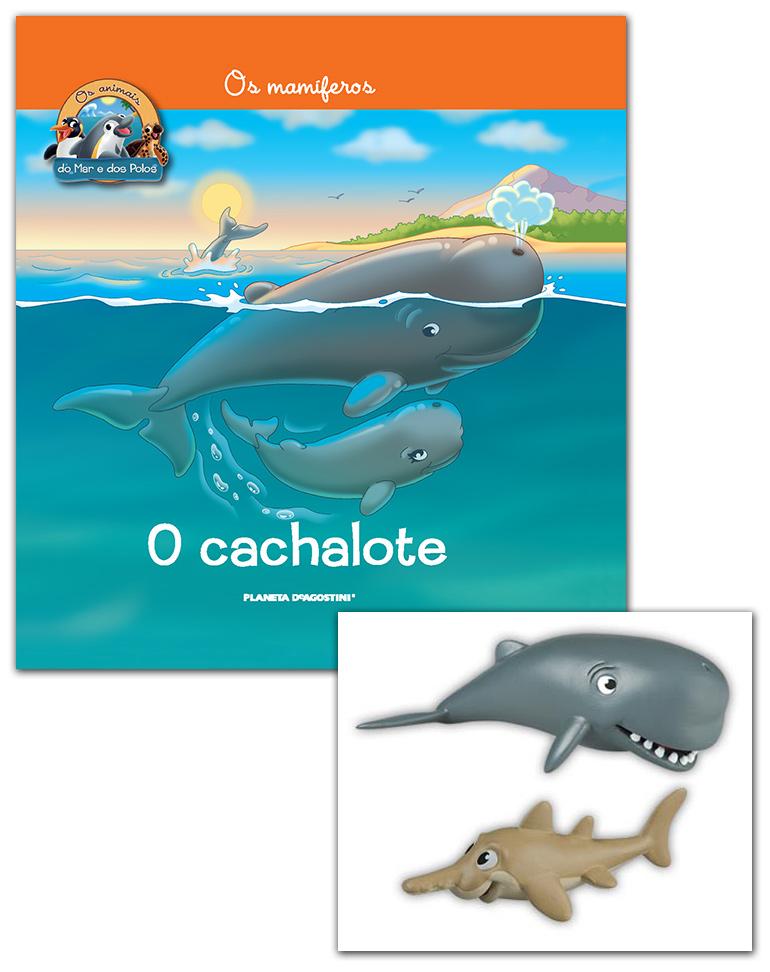 Livro + Conjunto de Figuras: Papá Cachalote + Bebé Peixe-serra