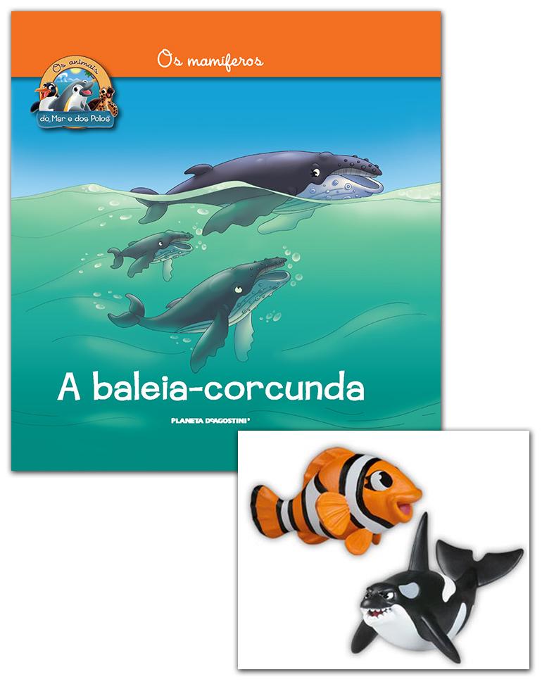 Livro + Conjunto de Figuras: Papá Orca + Mamã Peixe-palhaço