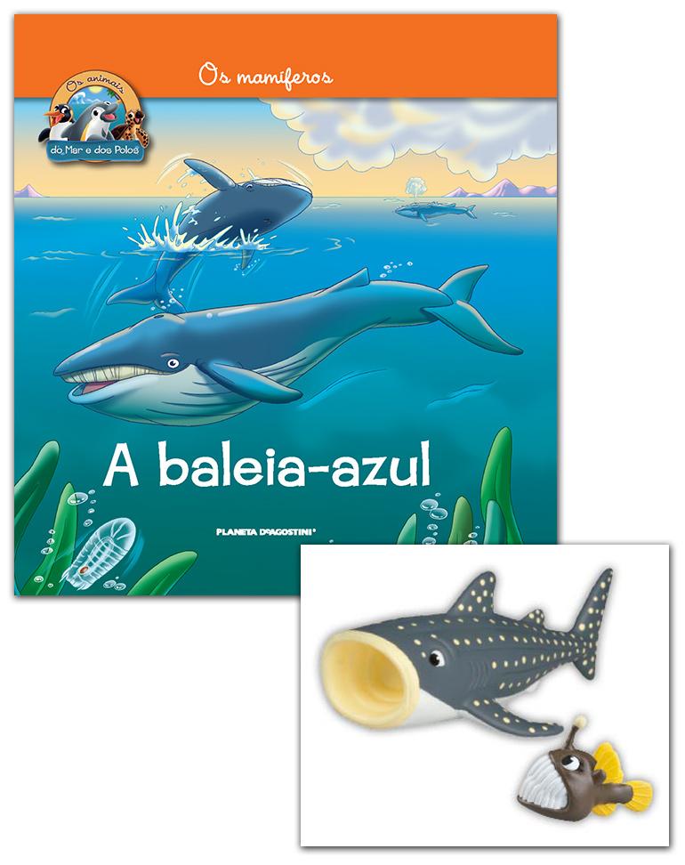 Livro + Conjunto de Figuras: Peixe lanterna bebé + Tibarão baleia papá