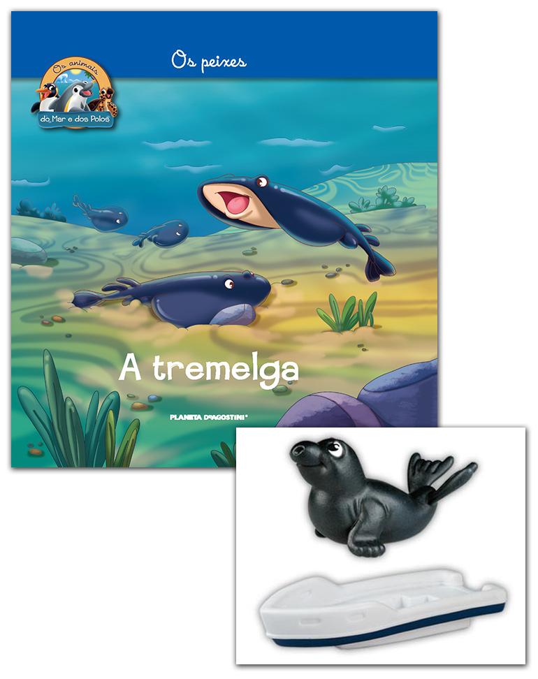 10/04/2019 (LIVRO + CONJUNTO DE FIGURAS: Parte do barco + Elefante Marinho bebé)