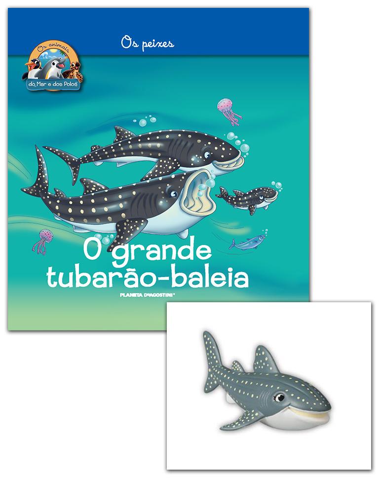 17/04/2019 (LIVRO + CONJUNTO DE FIGURAS: Tubarão-baleia mamã)