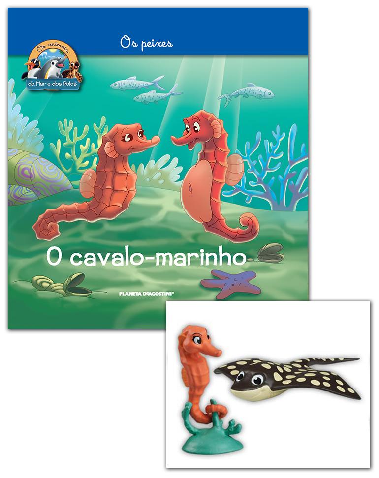 29/05/2019 (LIVRO + CONJUNTO DE FIGURAS: Cavalo-marinho mamã + Raia papá)