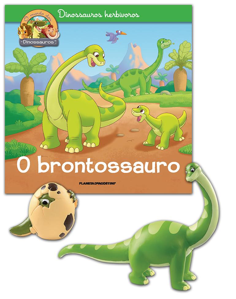 27/03/2019 (Livro + Brontossauro mamã + Ovo de Dinossauro)
