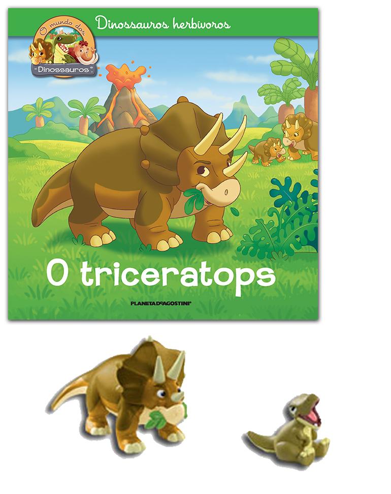 24/04/2019 (LIVRO + Triceratops papá + T-Rex bebé)