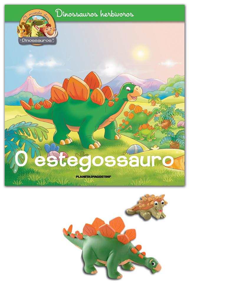 29-05-2018 (LIVRO + Stegossauro papá + Anquilossauro bebé)