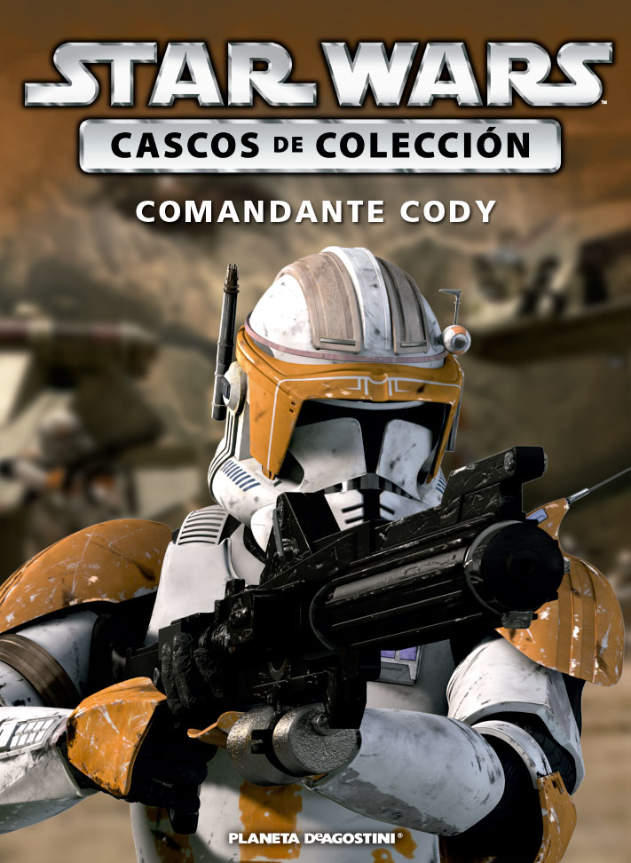 Casco 9: Comandante Cody + Fascículo 9